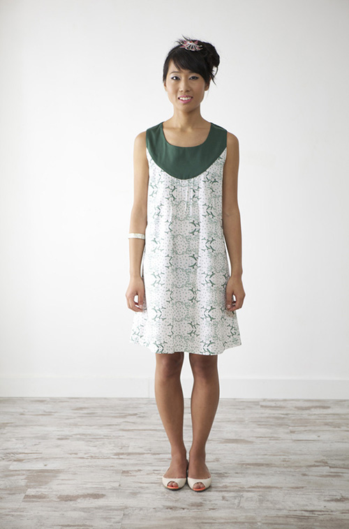 Branches dress 2